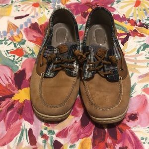 Plaid Sperry Boat Shoes